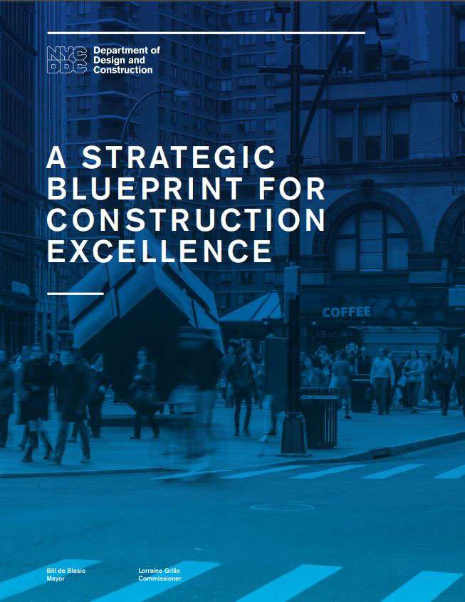 """DDC recently released """"A Strategic Blueprint for Construction Excellence."""" Image courtesy of DDC."""